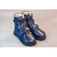 Ботинки зимние антиварусные модель 902 OrtofootVarusBoots, синие