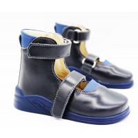 Туфли детские ортопедические  Ortofoot OrtoStabil синие