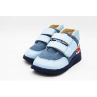 Кроссовки для маленьких детей анатомические  Ortofoot CrossActive синие