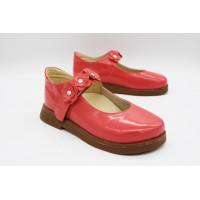 Туфли детские анатомические  Ortofoot Classic красные