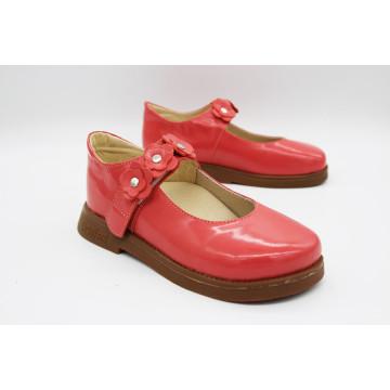 Туфли детские анатомические  Ortofoot Classic, красные